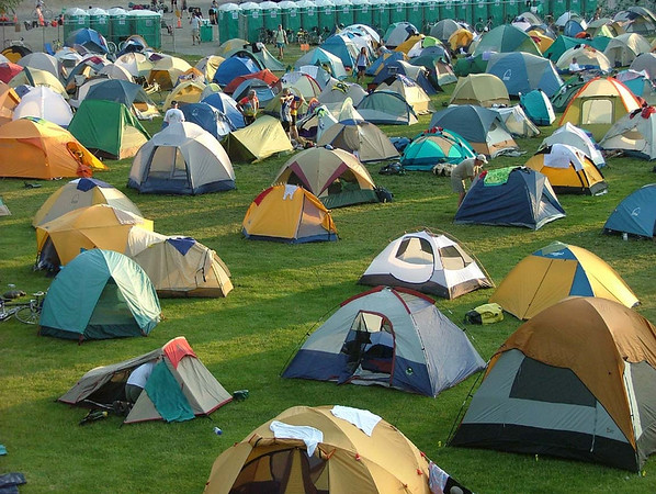 RtR Tent City