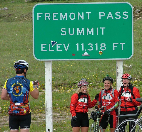 Freemont Pass, the Final Climb