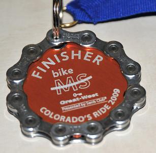 2009 MS-150 Medal
