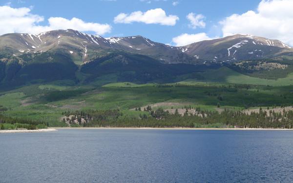 Mount Elbert and Mount Elbert Forebay