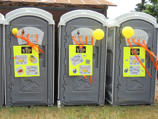 High Roller Potties
