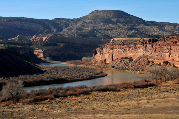 overlooking the Colorado River