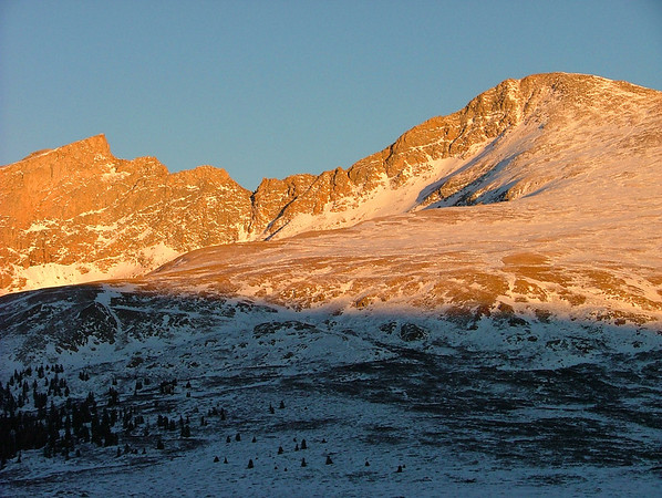 Mount Bierstadt at Sunset
