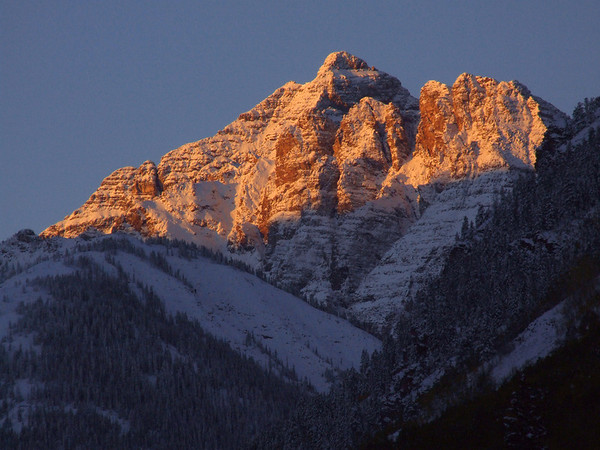 Pyramid Peak at Sunrise