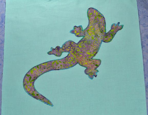 here, lizard, lizard...
