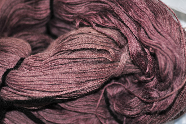 Worsted Weight Rose, then Alkanet