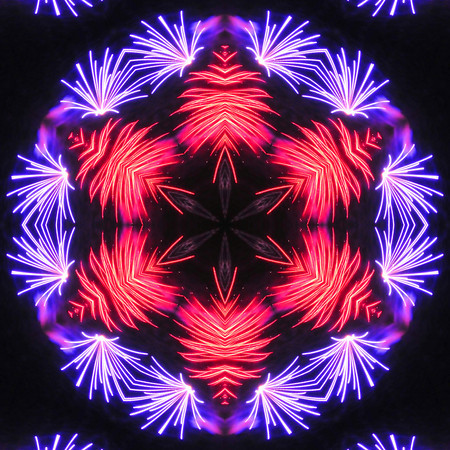 playing with fireworks in Photoshop