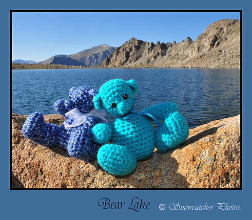 Bears at Bear Lake
