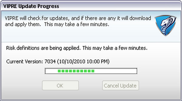 You KNOW Vipre blatantly timed this specific update at this precise moment!