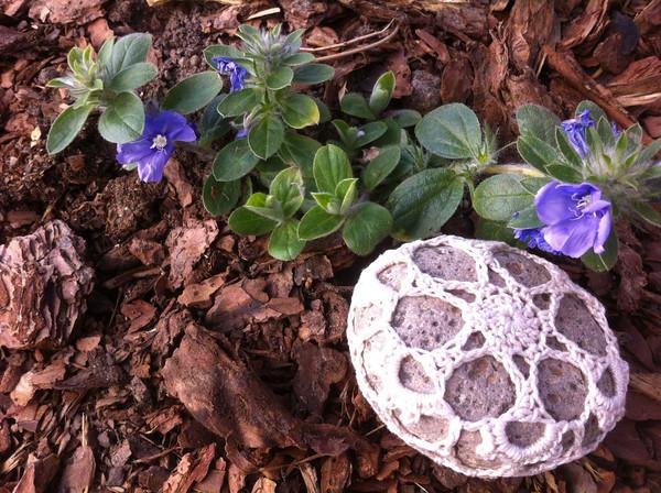 Garden Snowflake Rock
