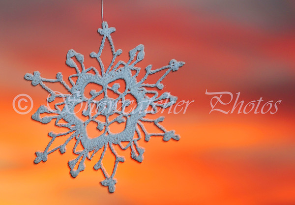 Sunset Snowflake