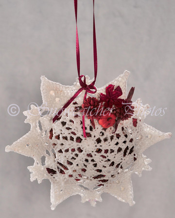 St. Elmo Snowflake Pomander