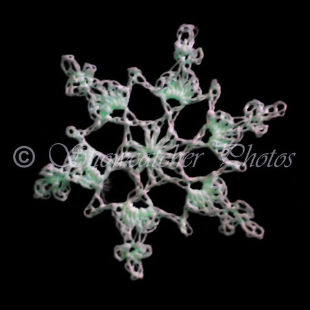 Glow-in-the-Dark Top of the Stack Snowflake