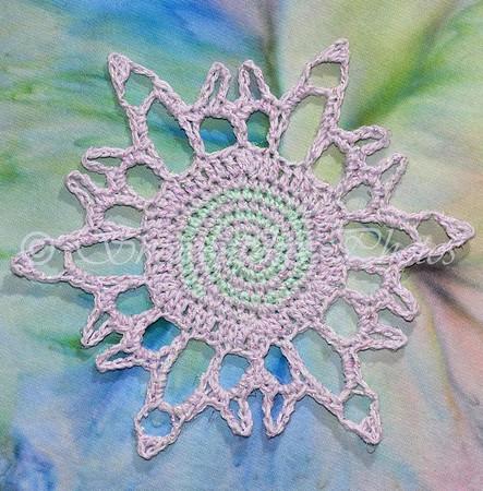 Crazy Spiral Snowflake