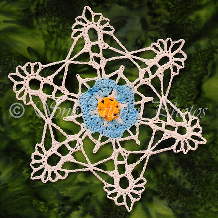 Forget-Me-Not Snowflake