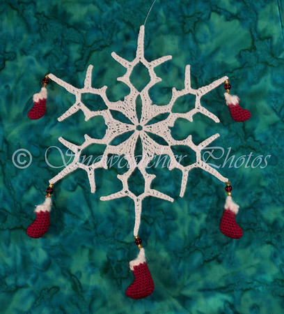 Christmas Stocking Snowflake
