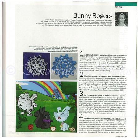 Page 101 Art Forum Magazine, January 2014