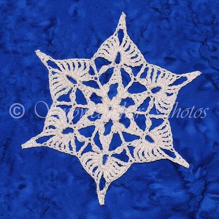 Denim Frost Snowflake