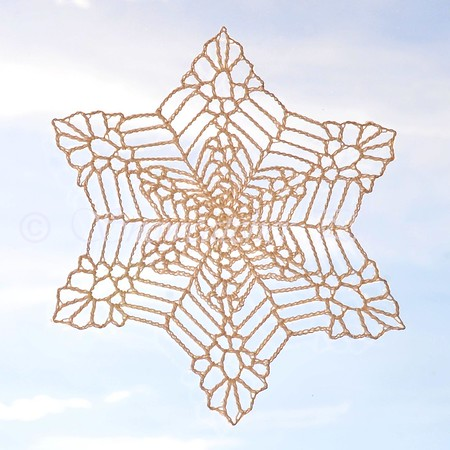 Bigger, Wetter, Heavier Snowflake with wheel center