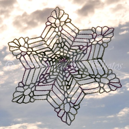 Bigger, Wetter, Heavier Snowflake with solid center