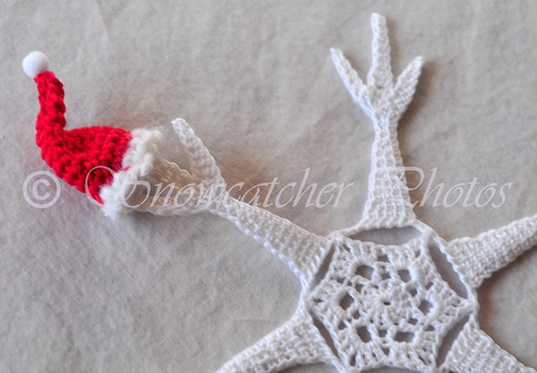 Santa Hat Snowflake