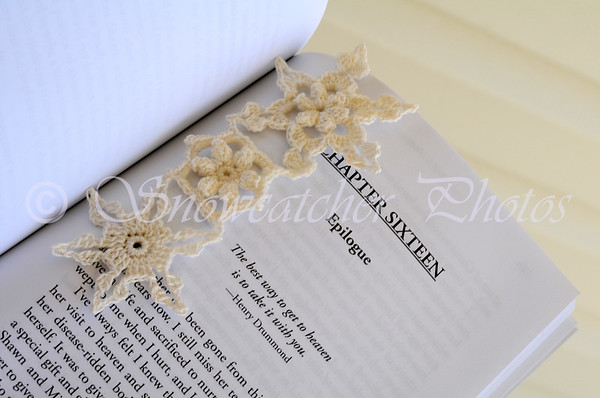 Garden Snowflake Bookmark