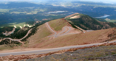 A steep and feared Pikes Peak W