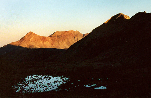Dolores Peak at Sunrise