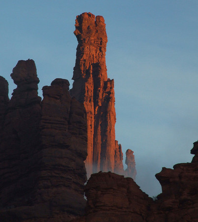 the Titan, Fisher Towers, Utah