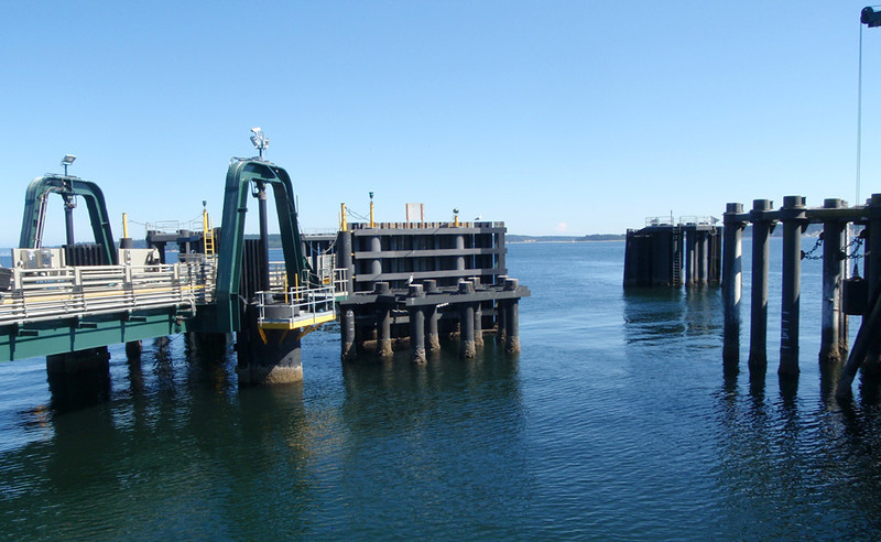 Ferry dock, Port Townsend, WA