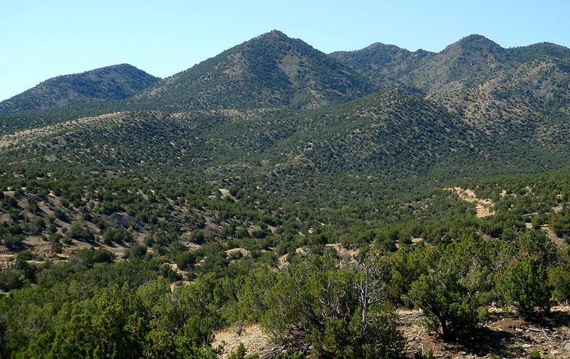 Santa Fe, New Mexico, landscape