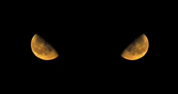 The Moon, Mirrored