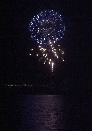 Frisco Fireworks on the iPhone