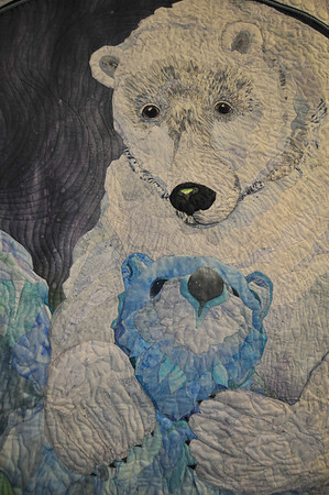 Detail of Last Dance in the Arctic by Kathy McNeil