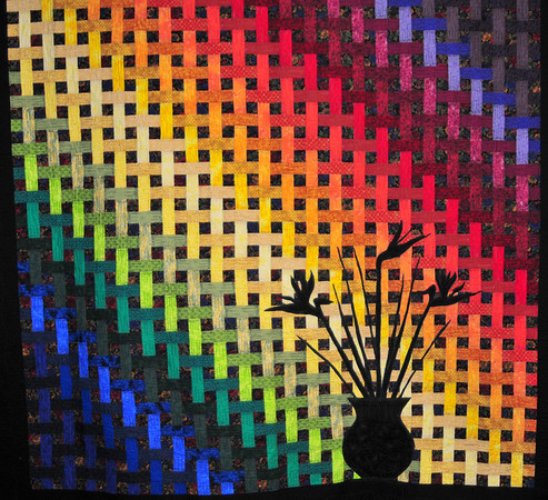 Paradise Rainbow Basket by Torie Anderson