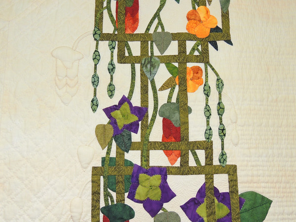 Detail of Enchanted Garden by Cathleen Miller, Best of Show