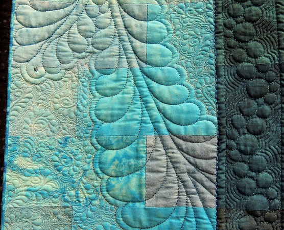 Detail of A Pocket Full of Paisleys by Lorilynn King, Best Machine Workmanship