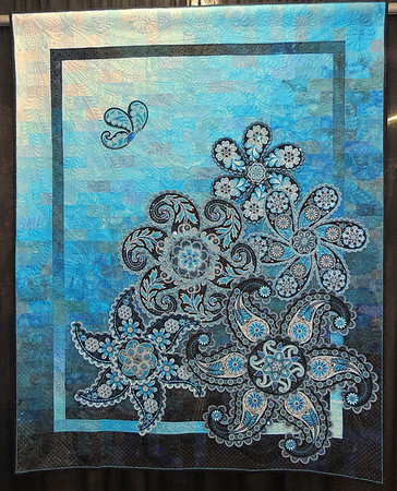 A Pocket Full of Paisleys by Lorilynn King, Best Machine Workmanship, innovative
