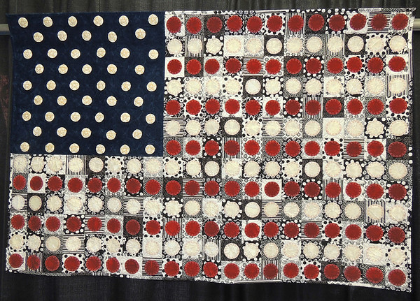 Black, White, Red, White, Blue by Irene Guthrie and Linda Schwarz