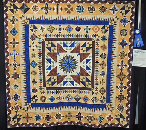 Lakota Star by Patricia Lamfers, Best Colorado Quilt