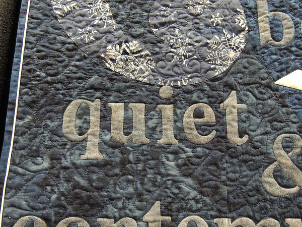 Detail of Quiet by Mary Corcoran