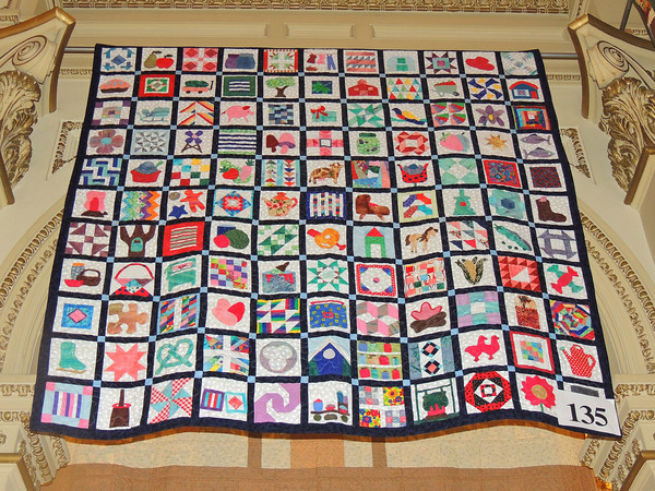Amish Circle Quilt by Linda Starkey