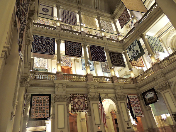 Quilts at the Capitol