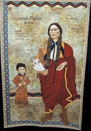 Quanah Parker by Patricia Heacox, Best Machine Workmanship