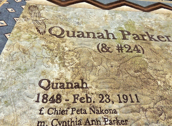 Detail of Quanah Parker by Patricia Heacox, Best Machine Workmanship