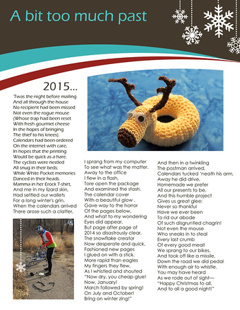 Our 2014 Christmas Letter