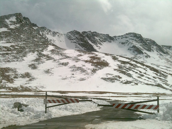 Mount Evans Road Closure