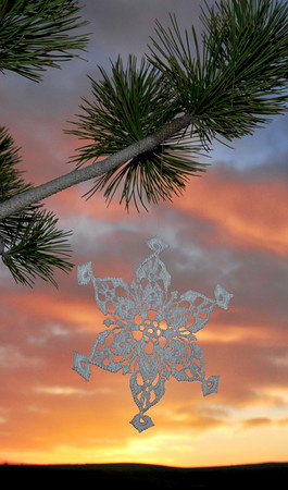 Snowflake Sunrise
