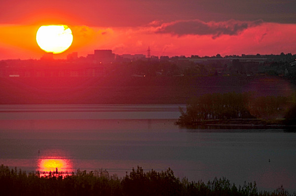 Cycling Sunrise