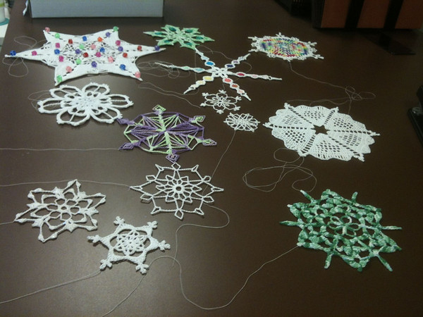 Snowflakes for Connecticut